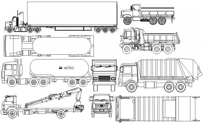 Download Vehicle CAD blocks