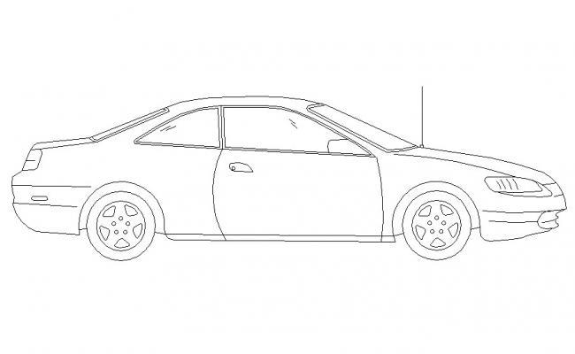 Download Vehicle Free AutoCAD Blocks