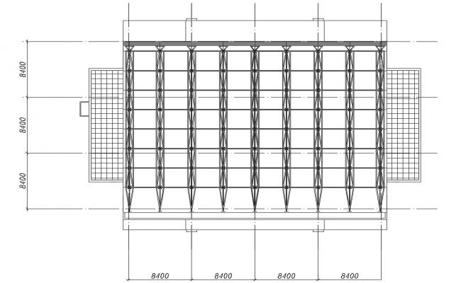 Download the Commercial Glass Facade AutoCAD File Free