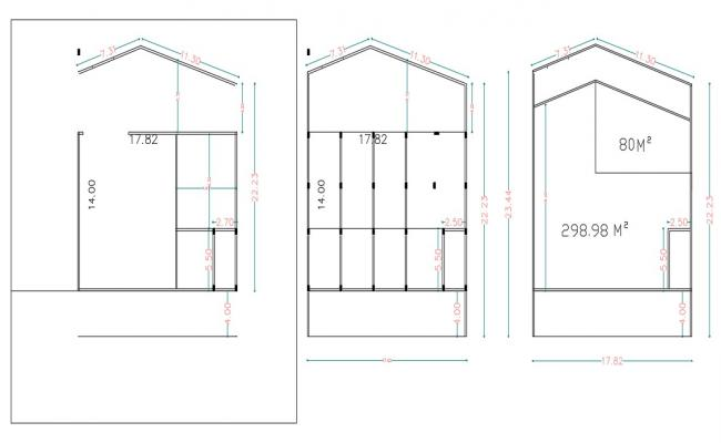 Download Free DWG File House Floor Plan