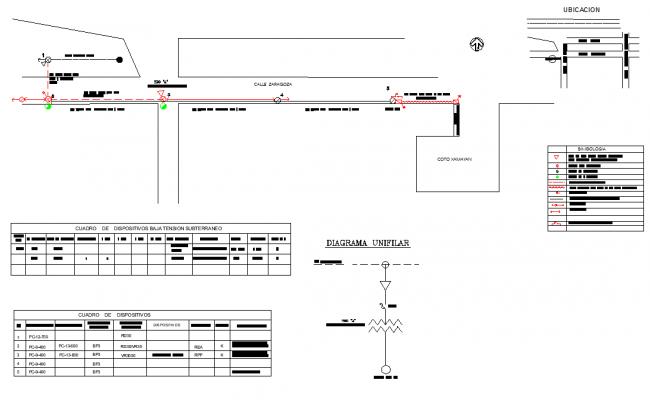 Draft media line tension autocad file