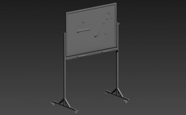 Drawing Board Design 3d model Max File