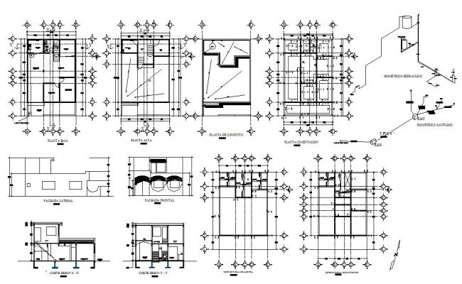 Condo Floor Plans In DWG File