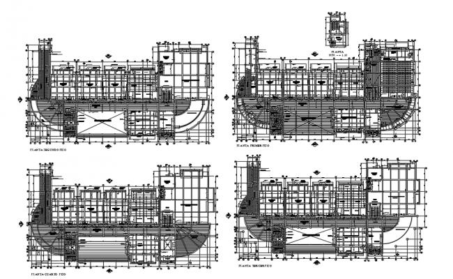 Commercial Building plan