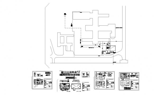 Fitness Center Design In AutoCAD File
