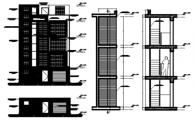 Building Drawing Plan In DWG File