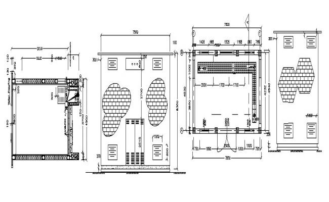 Building Drawing Plan In AutoCAD File