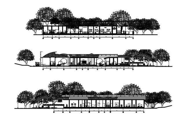 Hospital Building Elevation Design