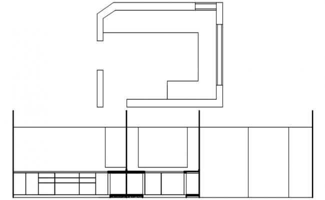 Kitchen Design In DWG File