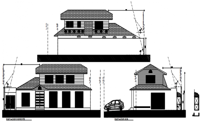 Drawing of office design in AutoCAD