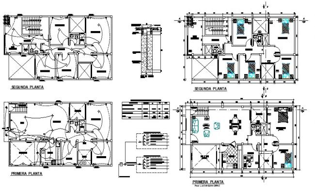 Condo Drawing in AutoCAD File