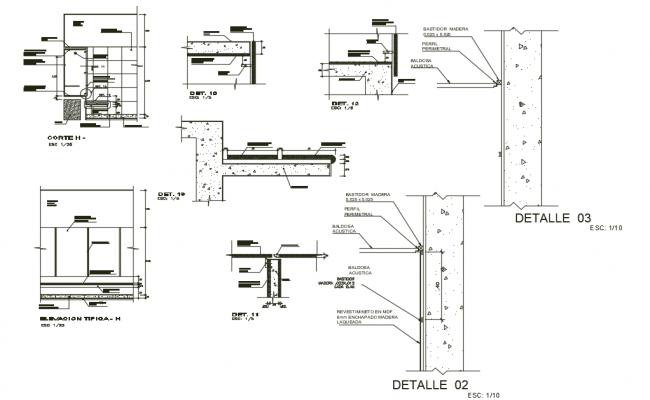 Dressing Room Design In CAD File