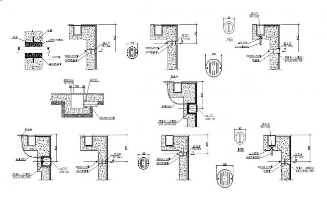 Drinage Catch Basin Design AutoCAD drawing