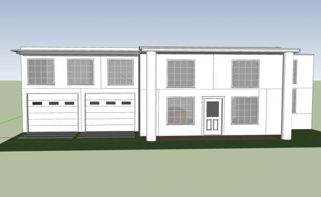 Duplex 4 Bedroom Bungalow