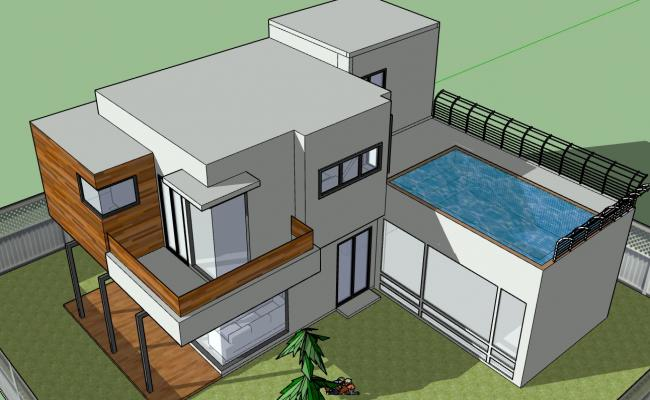 Duplex House with a Terrace Swimming pool