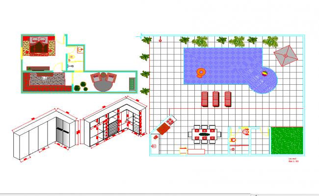 Duplex House Plans Free Download Dwg