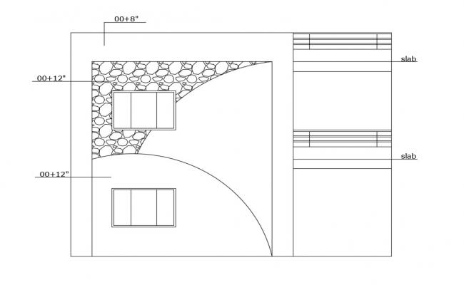 Dwg file of 2 storey house design