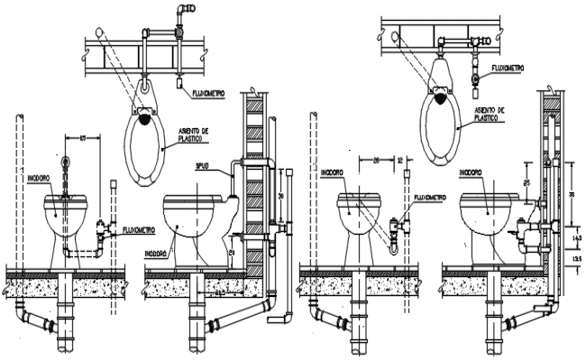 Dwg file of bathroom details