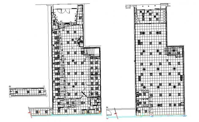 Dwg file of false ceiling layout