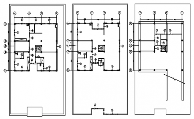 Dwg file of foundation plan