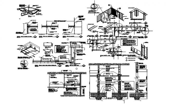 Dwg file of gypsum board detail