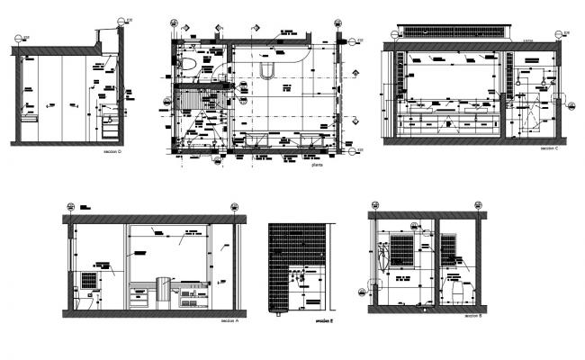 Dwg file of master bathroom bathroom layout