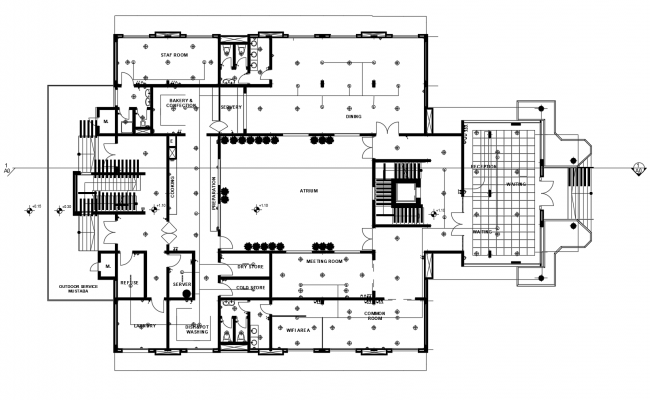 Dwg file of office