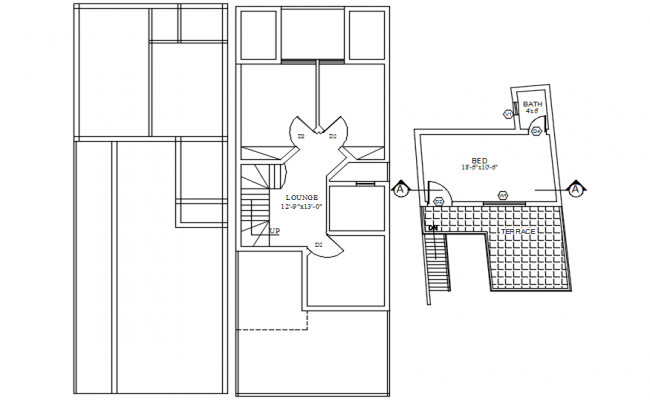 Dwg file of residential house layout