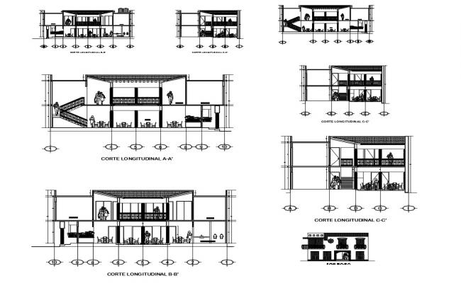 Dwg file of restaurant section