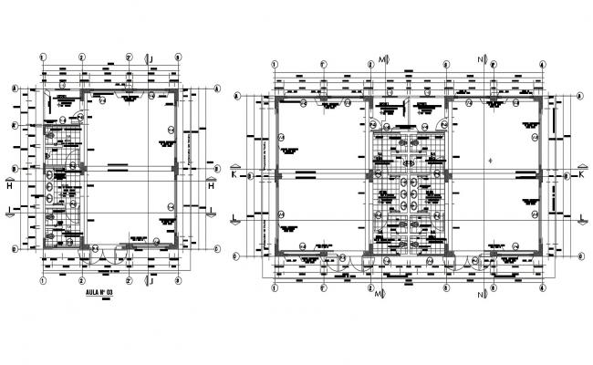 Dwg file of school layout