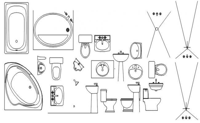Dwg file of sink design