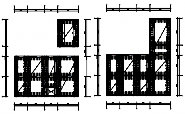 Dwg file of structure detail
