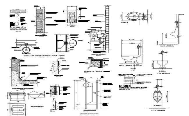 Dwg file of the sanitary cad  block