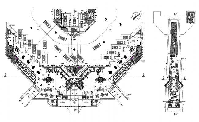 Dwg file of transit hub town