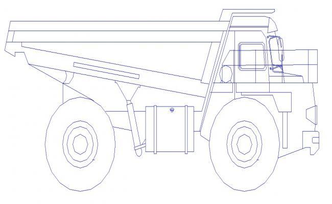 Truck Block In DWG File