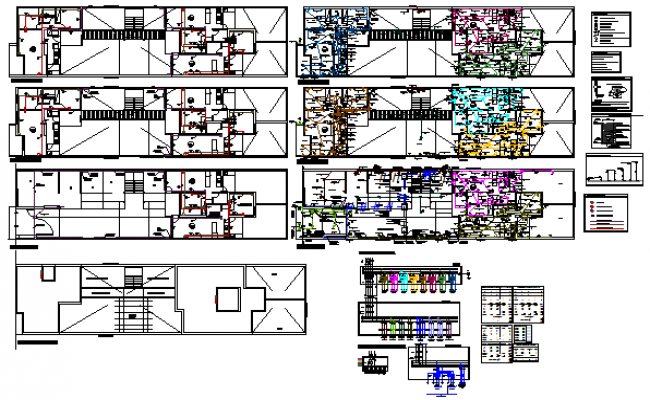 ELECTRICAL layout of COMPLEX design drawing