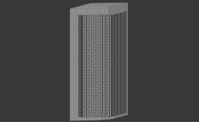 Economic Building Design 3d Max File