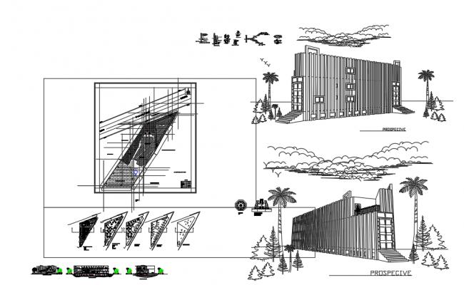 Educational institutional building