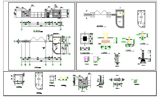 Electric & Structure detail & Construction detail.