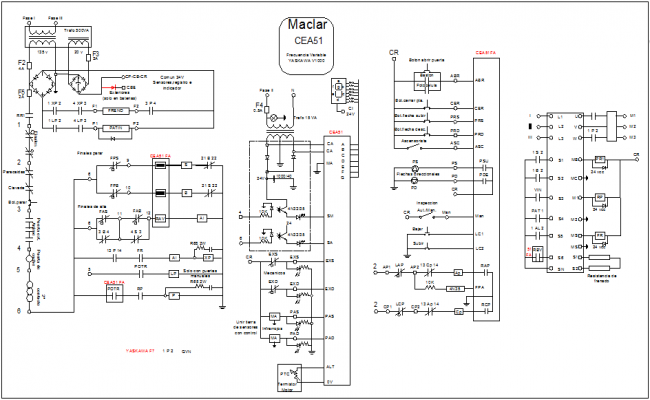 Electric Lay-out design for motor control system