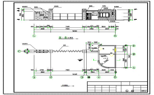 Electric Plan & Elevation design