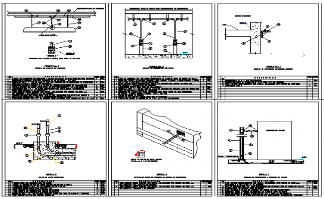 Electric installation details of residential house dwg file