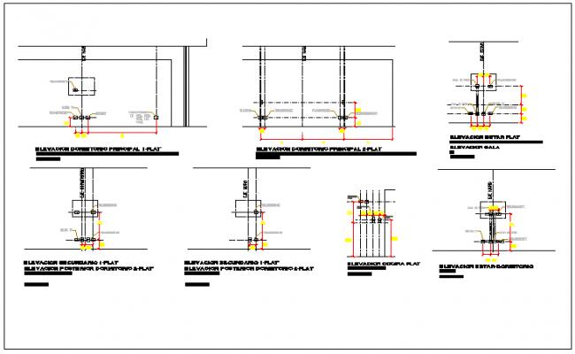 Electric layout circuit diagram detail dwg file