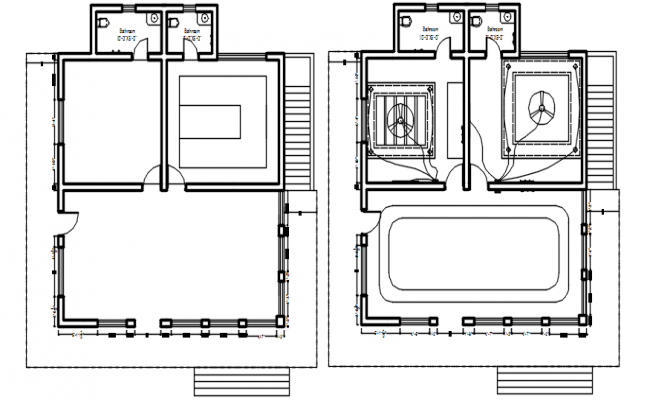 House Wiring Plan AutoCAD Drawings