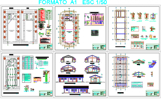 Electric plan and Construction working plan detail dwg file