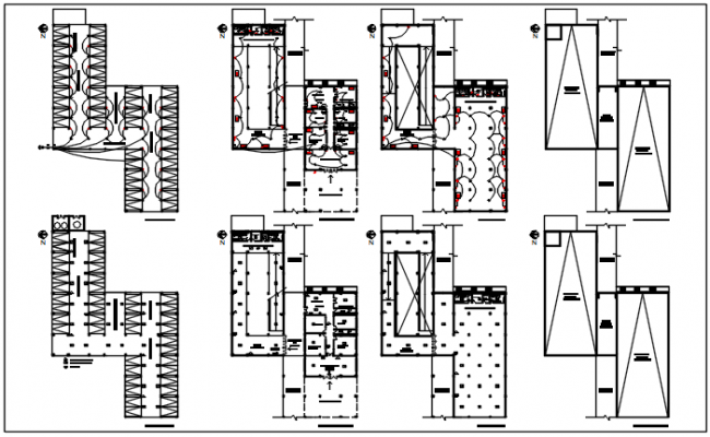 Electric plan detail dwg detail