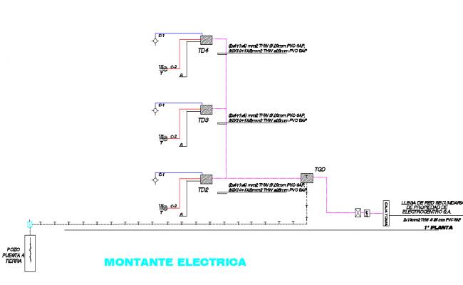Electric stile plan detail dwg file