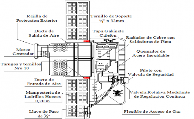 Electric water heater installation details dwg file
