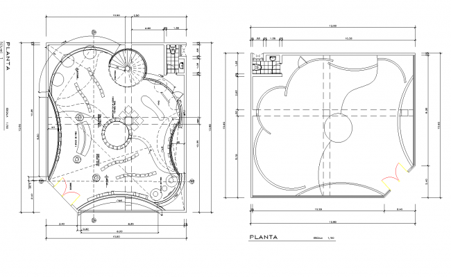 Electrical busterminal layout detail dwg file.