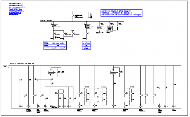 Electrical Circuit Diagram Detail View Dwg File